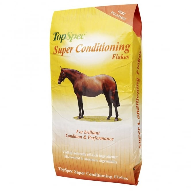 TopSpec Super Conditioning Flakes 20Kg - Horse Feed