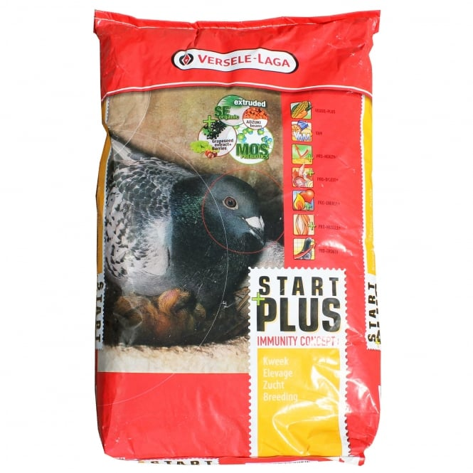 Versele Laga Start Plus I.C. 20Kg - Breeding Pigeon Feed