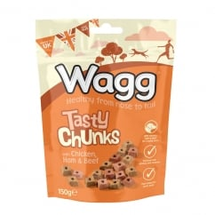 Tasty Chunk Treats 150g - Dog Treats