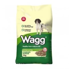 Wagg Worker Original Beef & Veg Dog Food 17Kg