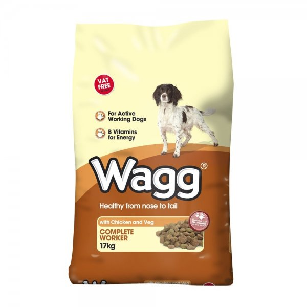 Wagg Dog Food Worker Kg