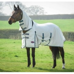 Comfitec Airflow Combo Fly Rug White/Sea Green/Pink