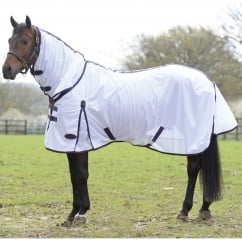 Comfitec Essential Mesh Combo Fly Rug White/Purple/Black