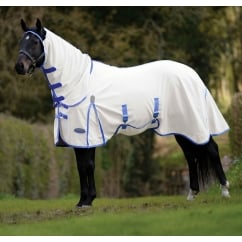 Comfitec Shield Combo Fly Rug White/Blue