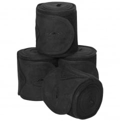 Fleece Bandage 3.5m Pack Of 4 Black