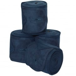 Fleece Bandage 3.5m Pack Of 4 Navy