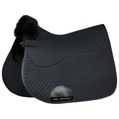 Merino High Wither All Purpose Saddle Pad Black 17