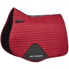 Prime All Purpose Saddle Pad Maroon Full