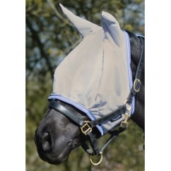 Soft Mesh Fly Mask Smoke & Lavender
