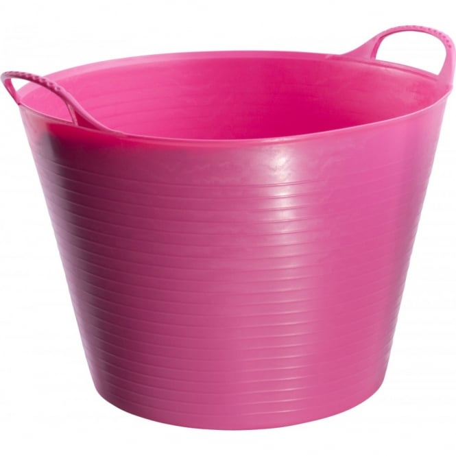 Wm Faulks Tubtrug Feed Bucket Pink