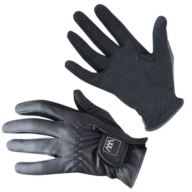 Woof Wear Competition Gloves Black - Riding Gloves