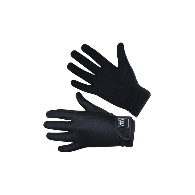 Woof Wear Connect Horse Riding Gloves Black