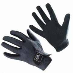 Event Gloves Black - Horse Riding Gloves