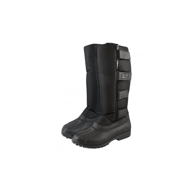 Woof Wear NEW DESIGN Long Yard Boots Black & Grey (Mk3)