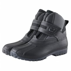 NEW DESIGN Short Yard Boots Black & Grey (Mk3)