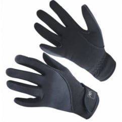 Precision Thermal Gloves Black - Horse Riding Gloves
