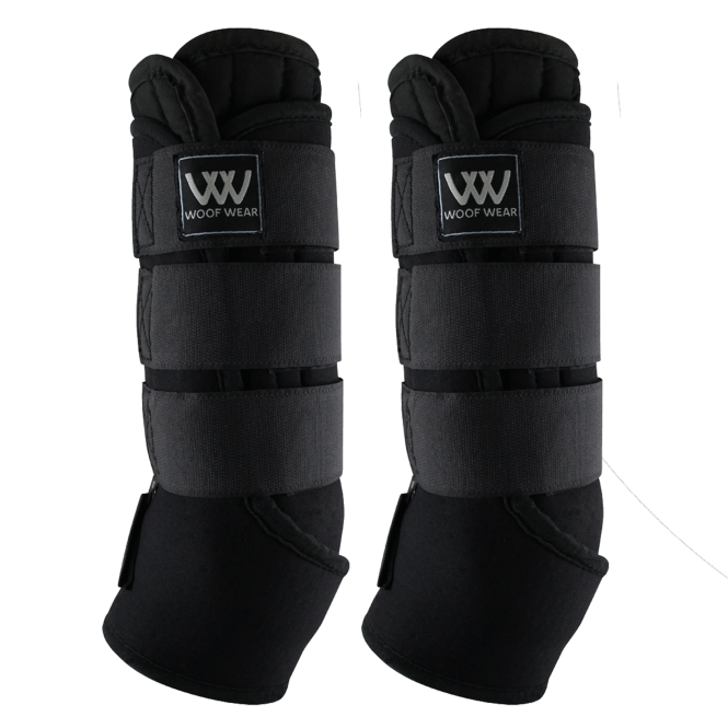 Woof Wear Stable Boots With Wicking Liners - Black/Grey