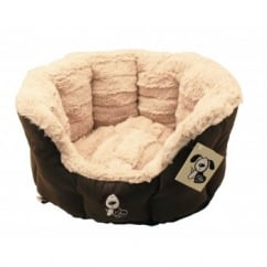 Montieri Oval Dog Bed
