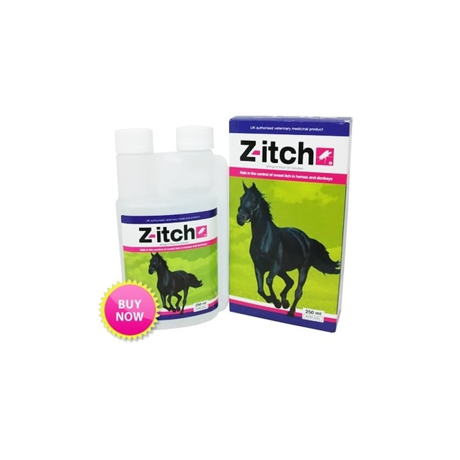 Z-itch Pour-On Horse Sweet Itch Solution 250ml